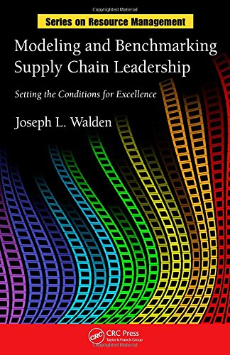 9781420083972: Modeling and Benchmarking Supply Chain Leadership: Setting the Conditions for Excellence (Resource Management)