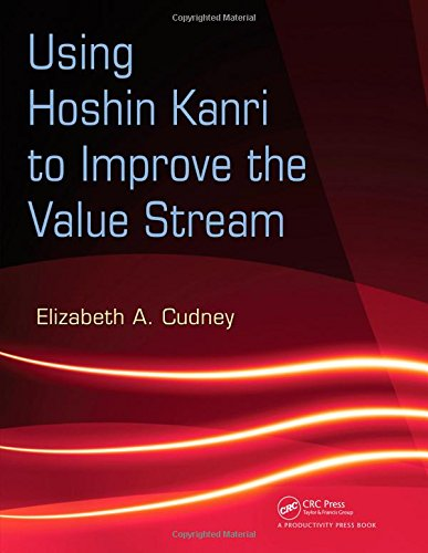 9781420084238: Using Hoshin Kanri to Improve the Value Stream