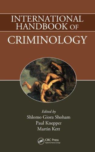 International Handbook of Criminology: Editor-Shlomo Giora Shoham;