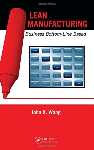 9781420086027: Lean Manufacturing: Business Bottom-Line Based