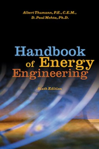 9781420087680: Handbook of Energy Engineering, Sixth Edition