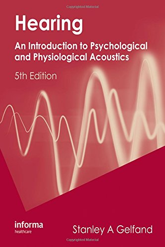HEARING-INTRO.TO PSYCH.+PHYS.ACOUSTICS: GELFAND
