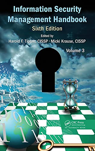 9781420090925: Information Security Management Handbook, Volume 3 ((ISC)2 Press)