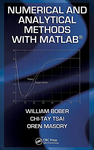 9781420093568: Numerical and Analytical Methods with MATLAB (Applied and Computational Mechanics)