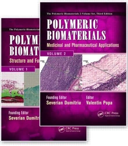 9781420094725: Polymeric Biomaterials: 2 Volume Set, Third Edition