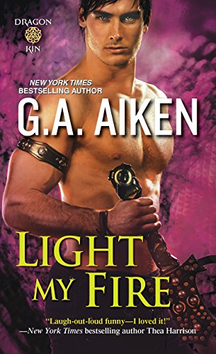 9781420131598: Light My Fire (Dragon Kin)