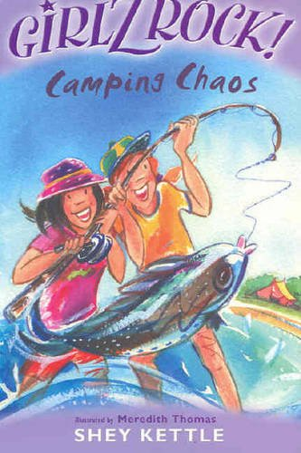 9781420204537: Girlz Rock 18: Camping Chaos
