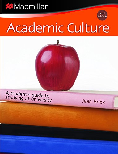 9781420256598: Academic Culture: A Student's Guide to Studying at University ( EXPRESS SHIPPING WITH DHL)
