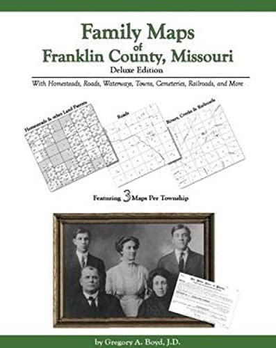 9781420301427: Family Maps of Franklin County , Missouri