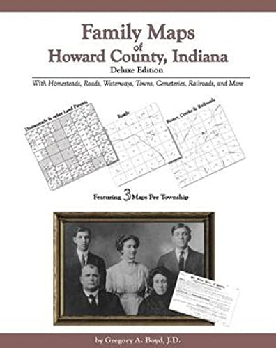 9781420303247: Family Maps of Howard County, Indiana, Deluxe Edition