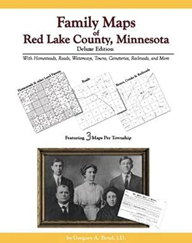 9781420304077: Family Maps of Red Lake County, Minnesota, Deluxe Edition