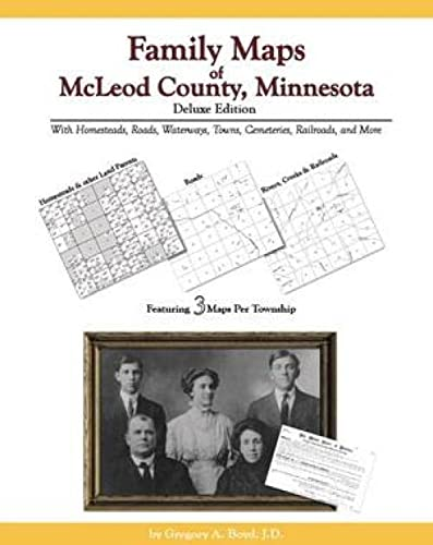 9781420306804: Family Maps of McLeod County, Minnesota, Deluxe Edition