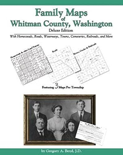 9781420309751: Family Maps of Whitman County, Washington, Deluxe Edition