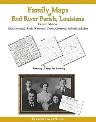 9781420310214: Family Maps of Red River Parish, Louisiana, Deluxe Edition
