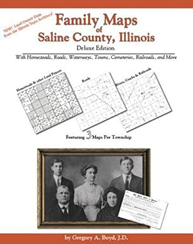 9781420310252: Family Maps of Saline County, Illinois Deluxe Edition