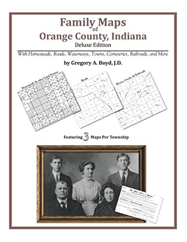 9781420311525: Family Maps of Orange County, Indiana
