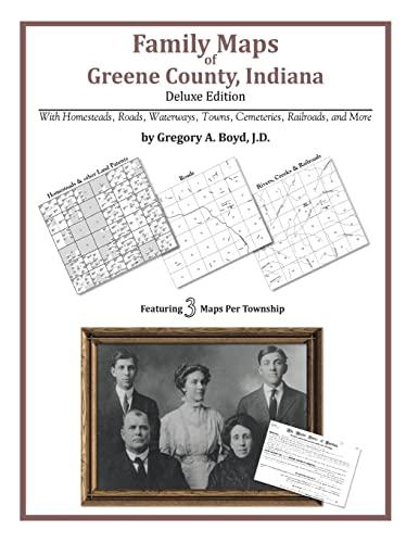 9781420311747: Family Maps of Greene County, Indiana