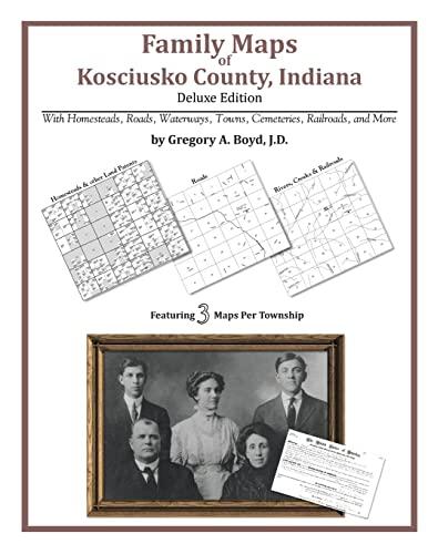 9781420311815: Family Maps of Kosciusko County, Indiana