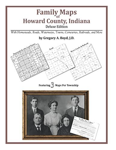 9781420312089: Family Maps of Howard County, Indiana