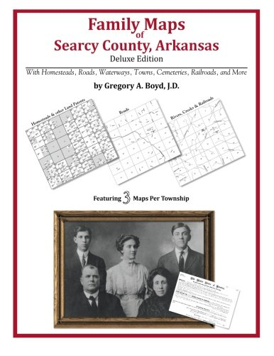 9781420312447: Family Maps of Searcy County, Arkansas