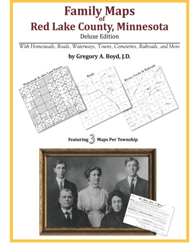 9781420312478: Family Maps of Red Lake County, Minnesota
