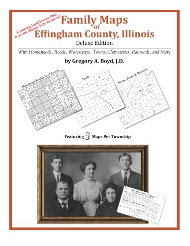 Family Maps of Effingham County, Illinois: Boyd J.D., Gergory A.