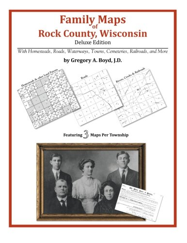 9781420313000: Family Maps of Rock County, Wisconsin
