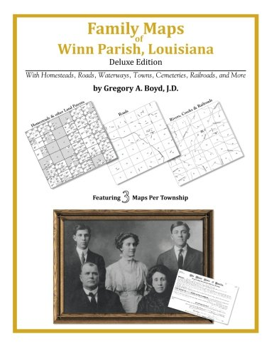 9781420313468: Family Maps of Winn Parish, Louisiana
