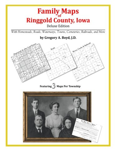 9781420314380: Family Maps of Ringgold County, Iowa