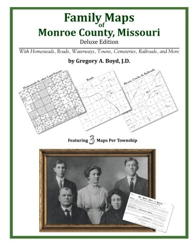 Family Maps of Monroe County, Missouri: Boyd J.D., Gregory A.