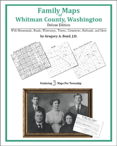 9781420315035: Family Maps of Whitman County, Washington, Deluxe Edition
