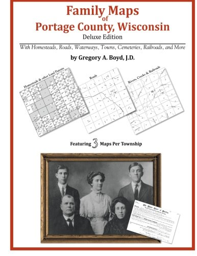 9781420315103: Family Maps of Portage County, Wisconsin