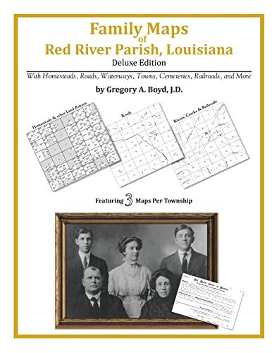 9781420315257: Family Maps of Red River Parish, Louisiana
