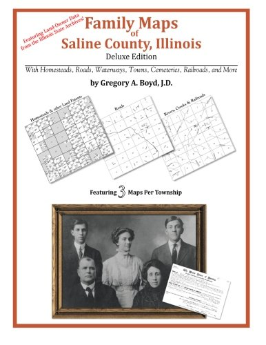 9781420315271: Family Maps of Saline County, Illinois