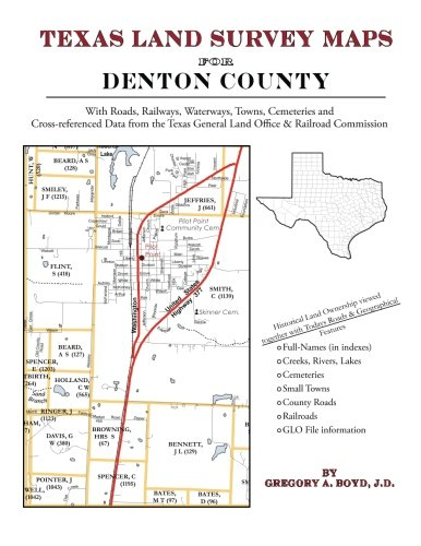 9781420350135: Texas Land Survey Maps for Denton County