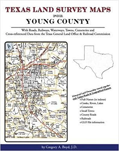 9781420350562: Texas Land Survey Maps for Young County, Texas