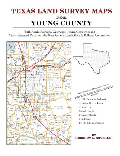 9781420350586: Texas Land Survey Maps for Young County