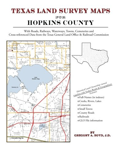 Texas Land Survey Maps for Hopkins County: Gregory A Boyd