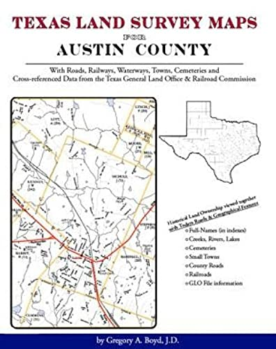 9781420351163: Texas Land Survey Maps for Austin County