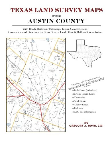 9781420351187: Texas Land Survey Maps for Austin County