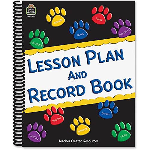 Teacher Created Resources Paw Prints Lesson Plan: Teacher Created Resources