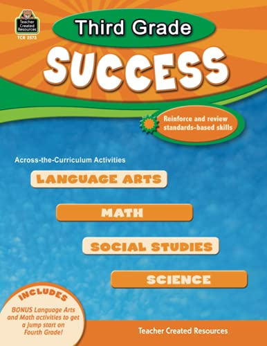 9781420625738: Third Grade Success (Success Series)