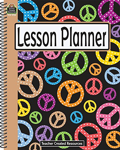 9781420627244: Peace Signs Lesson Planner
