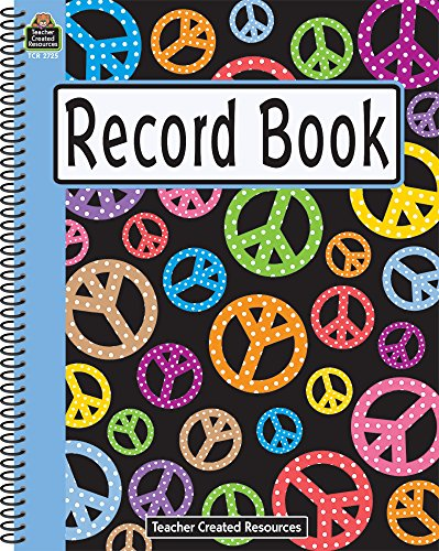 9781420627251: Peace Signs Record Book: All Grades - Peace Signs