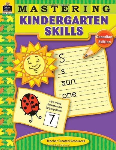 Mastering Kindergarten Skills-Canadian: Smith, Jodene