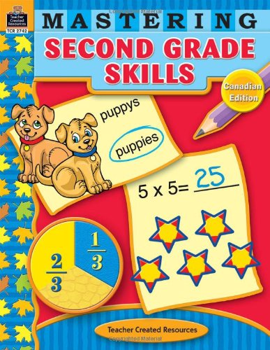 9781420627428: Mastering Second Grade Skills-Canadian