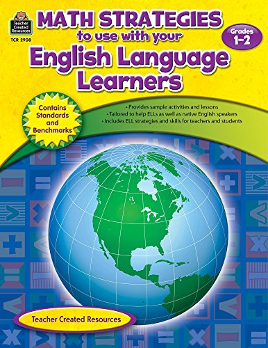 9781420629088: Math Strategies to use with English Language Learners Gr 1-2