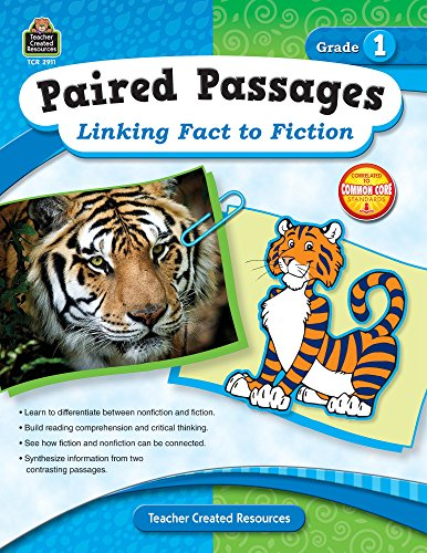 9781420629118: Paired Passages: Linking Fact to Fiction Grade 1