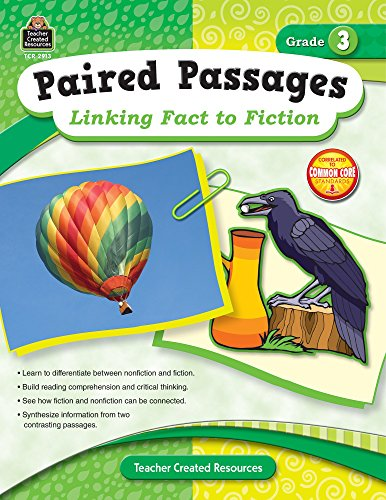 9781420629132: Paired Passages: Linking Fact to Fiction Grade 3