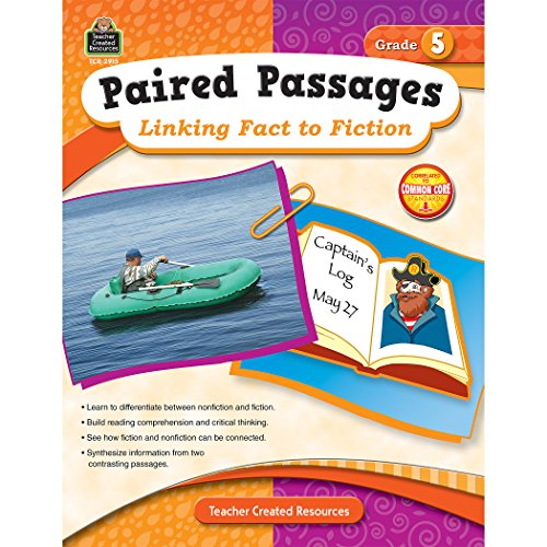9781420629156: Paired Passages: Linking Fact to Fiction Grade 5